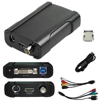 4CH USB video card/video capture card/dvr video card support vga dvi hdmi sdi USB530