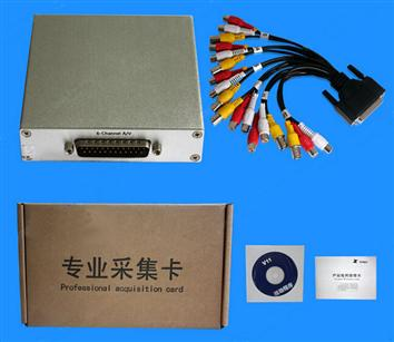 6CH CVBS USB video card/video capture card/dvr video card support Streaming & Nagar TC-UB6000