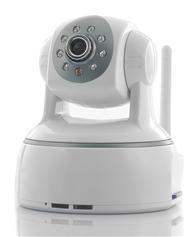 0.3Megapixel wireless camera/wireless security camera/wireless ip camera with P2P function NCL614W