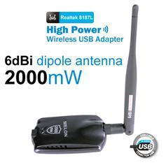 Realtek 8187L 54Mbps High Gain USB Wireless adpter/USB adpter/wifi adpter W1055