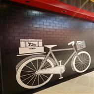 深圳华强北72街餐饮店墙绘