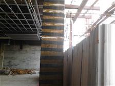 广州总统大酒店改造楼板粘碳纤维布加固
