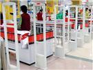 超市防盜門CL-X12南京服裝店,南京超市防盜器