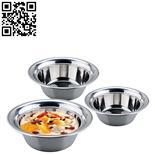 宽边多用汤盆(Stainless steel Soup basin)ZD-TP05