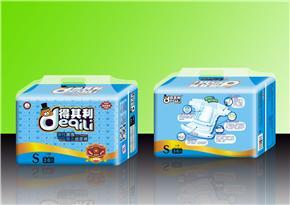 得其利36片S码芯体蓝芯片透气纸尿裤(货号:DQL628)