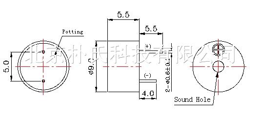 电磁式有源蜂鸣器 BJPS-PBZ09055D2803YB 北京现货 产品编号:09055有源蜂鸣器 产品名称: 电磁式有源蜂鸣器 产品规格: 9*5.5 朴氏公司蜂鸣器特点:抗跌落,耐高温,低电流,节能。 电磁式有源蜂鸣器 BJPS-PBZ09055D2803YB 北京现货 电磁式有源蜂鸣器 BJPS-PBZ09055D2803YB 北京现货