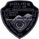 1845 police patch