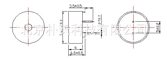 产品名称:BJPS-M1306CY4010P 压电无源蜂鸣器 BJPS-M1306CY4010P 压电无源蜂鸣器 产品规格: 13(直径)*6(高度)mm 产品说明: DIMEMSIONS Unit:mm Tolerance:0.5 mm 朴氏公司蜂鸣器特点:抗跌落,耐高温,低电流,节能。