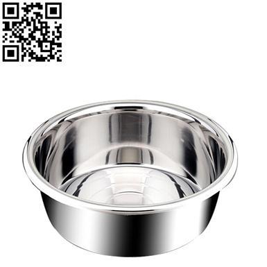 180名厨盆特厚不锈钢盆(Stainless steel basin)ZD-DP03