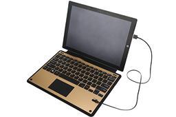Surface Pro 4 铝合金蓝牙皮套键盘-MZ-1088