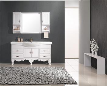 欧式橡木落地浴室柜xl-1233