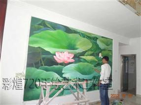 凯里市酒店手绘墙画