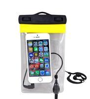 MPWB315 waterproof phone bag with ear phone