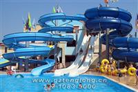 敞开滑梯+高速滑梯 水上滑梯 水上游乐设施