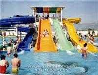 水上乐园设备 特色组合滑梯