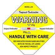防震动标签