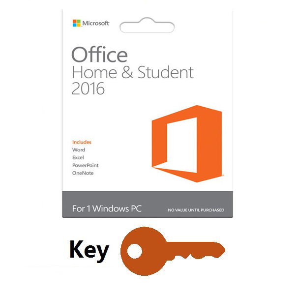 ms office 2016 home and student product key