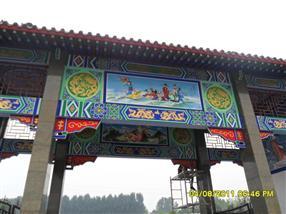 黔东南古建筑图案手绘-凯里古建彩绘-彩煌720手绘公司为您提供精美的古建彩绘图案