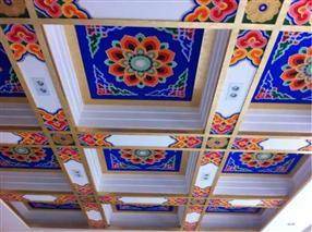 都匀古建筑彩绘-黔南州古建彩画-黔南石板街古建筑群彩绘 彩煌艺术为您提供