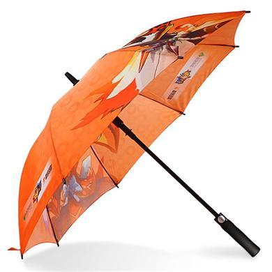 中山雨伞厂家批发订做27寸全玻纤超大广告伞  广州雨伞厂家