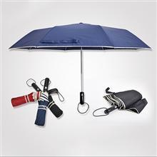 【太陽傘廠家】21寸三折鍍鎳全自動廣告雨傘批發定做   廣州雨傘廠