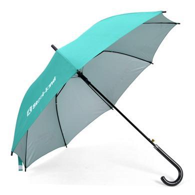 【太阳伞厂家】23寸铁槽骨直杆广告雨伞批发  广州雨伞厂