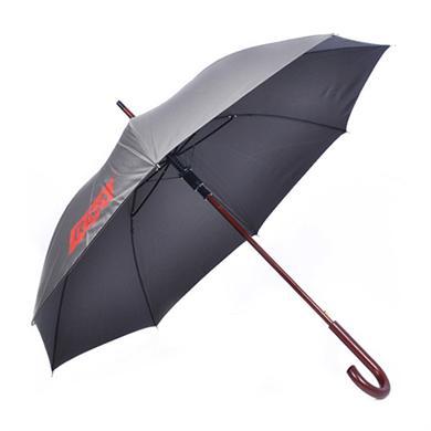 【太阳伞厂家】23寸木中棒直杆广告雨伞批发定做