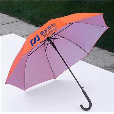 【太陽傘廠家】23寸鐵槽骨直桿廣告傘   中山雨傘廠  廣州雨傘廠