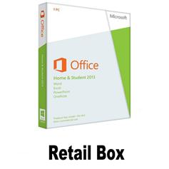 Retail box/office 2013 key Office Home and Student 2013 Key