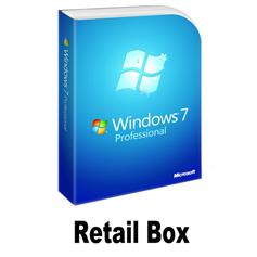 Retail box/key windows 7 Win 7 Professional Key