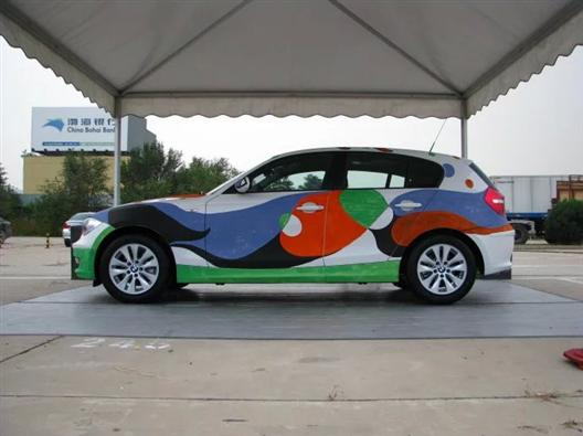 黔东南汽车彩绘-凯里汽车彩绘美容-汽车彩绘图片