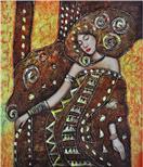 抽象人物油画,抽象画,抽象装饰画,抽象画图片油画艺术