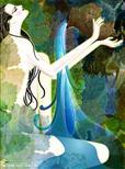 定制抽象油画,抽象油画欣赏,贵州抽象人物油画,黔东南油画