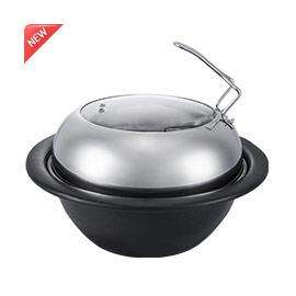 陶瓷仿石锅A款(蒸汽加热专配)