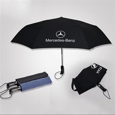 【雨傘廠家】21寸三折全自動各種汽車廣告雨傘定做