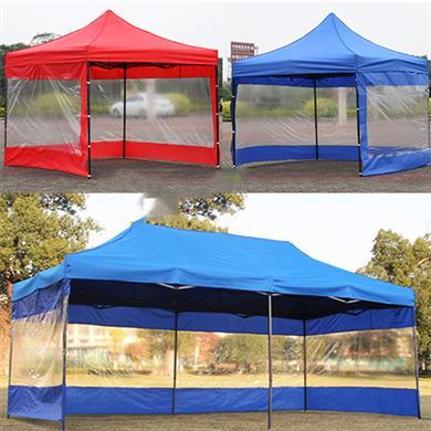雨伞厂家定做带围布折叠广告帐篷