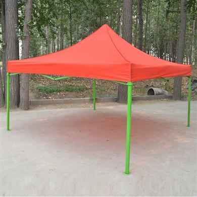 雨伞厂家定做绿色烤漆折叠广告帐篷