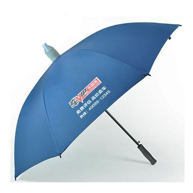【雨伞厂家】27寸带滴水套直杆广告伞定做