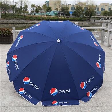 雨伞厂家定做42寸10骨户外广告太阳伞