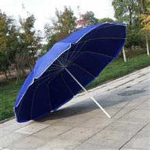 【雨傘廠家】60寸12骨超強防風戶外遮陽太陽傘