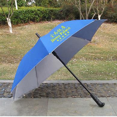 【雨伞厂家】27寸铁槽骨广告雨伞定做