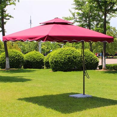 中山雨伞厂供应户外遮阳伞岗亭伞庭院保安户外伞太阳伞广告罗马伞