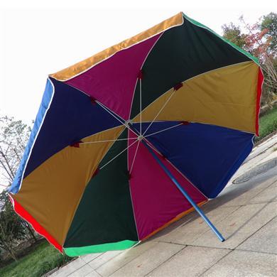 中山雨傘廠家定做彩虹廣告太陽傘