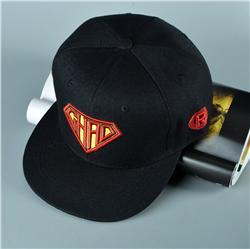 厂家定制爆款热销卡通帽子平沿棒球帽颜色图案可定制