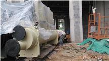 热泵机组吊装搬运板式换热器吊装定位北京公司