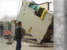 开式固定台压力机卸车搬运