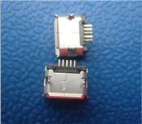MICRO USB 5P 插脚针加长 镀雾锡