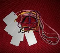 JTRFID4025 ISO14443A协议13.56MHZ高频Mifare1S50芯片珠宝标签IC吊牌标签M1挂件标签