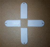 JTRFID3816 Ultralight吊牌标签NFC珠宝标签NFC挂件标签