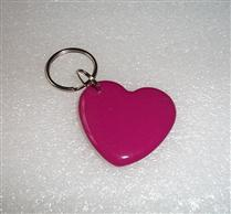 JTRFID4038心形朱紅色MIFARE1S50水晶鑰匙扣卡ISO14443A協議IC異形卡